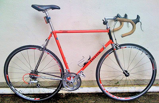 lotus excelle 10 speed road bike