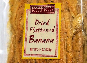 trader joe's dried flattened bananas