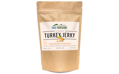 pure provisions orange ginger turkey jerky
