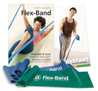 pilates flex bands