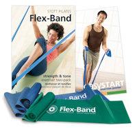 pilates flex bands