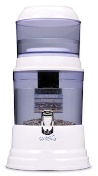 santevia alkaline water filtration system