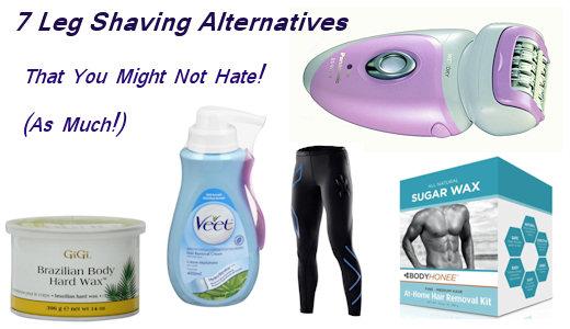 leg shaving alternatives