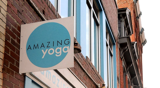 amazing yoga sign