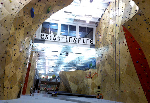 bkbs top roping and lead walls