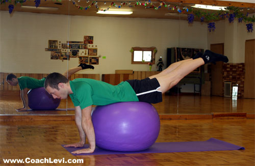 ball hip extension