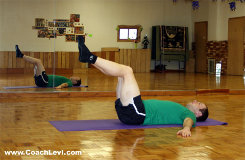 lying spinal twist