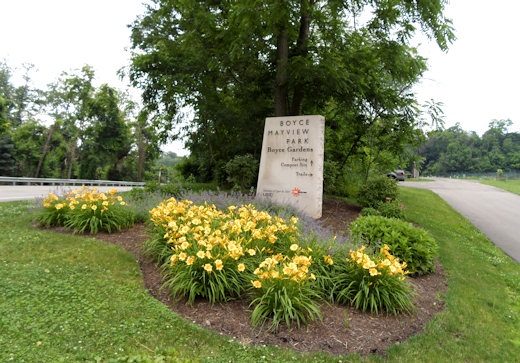 boyce mayview park gardens entrance