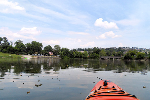 kayaking canonsburg lake