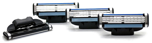 cartridge razor heads