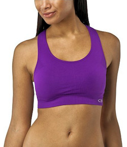 purple champion c9 racerback bra