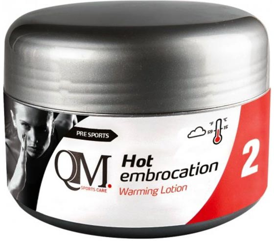 qoleum embrocation warming cream for athletes