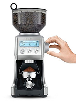 breville smart coffee bean grinder