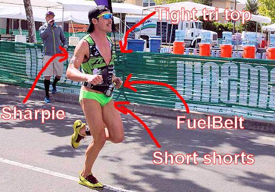triathlete tim reed short shorts