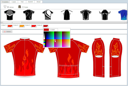 How to order a custom cycling jersey for your club or team Online clothing design software