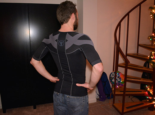 backjoy shirt posture after