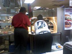 burger king staff