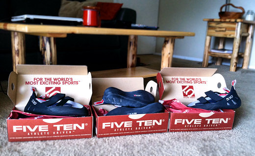 five ten rogue climbing shoe collection