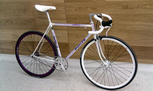 gazelle fixed gear bike