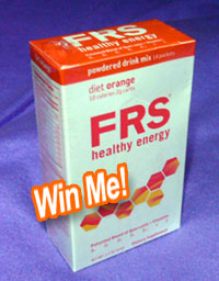 frs diet orange powder