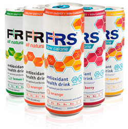 frs energy drink cans