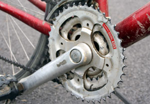 Bike Gears Tutorial The front sprockets that are