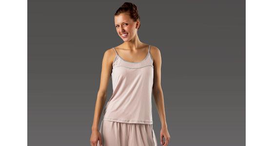 woman in sheex sleepwear