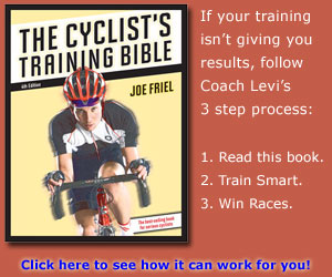 cyclist's training bible book cover
