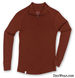 ibex wool base layer