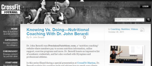 john berardi phd interview on crossfit journal