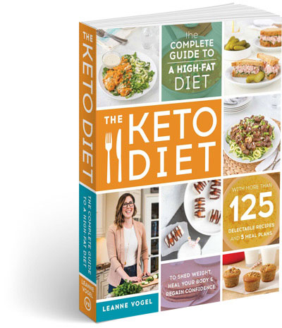 the keto diet by leanne vogel book cover