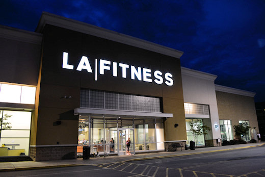 la fitness gym in bridgeville pa