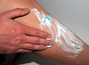 leg shaving for cyclists gel lather