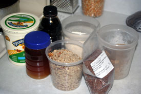 maple protein bar ingredients