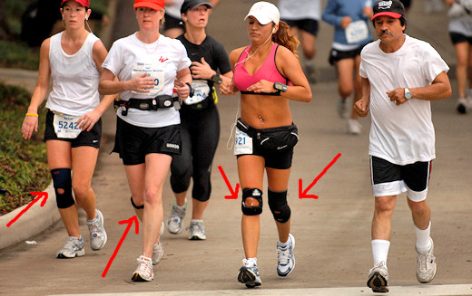 runners experiencing joint pain