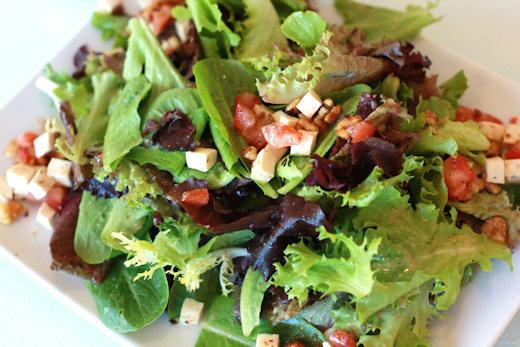 leafy greens salad