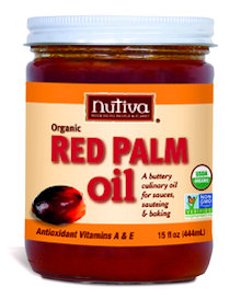 nutiva red palm oil jar