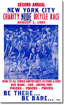 charity nude bicycle race
