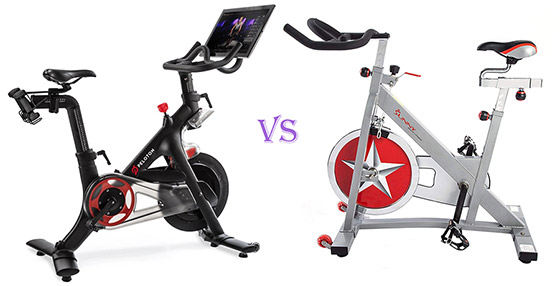 peloton bike vs sunny indoor bike
