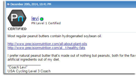 precision nutrition certified avatar