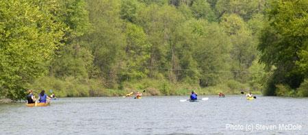 kayaking cville tri 2008