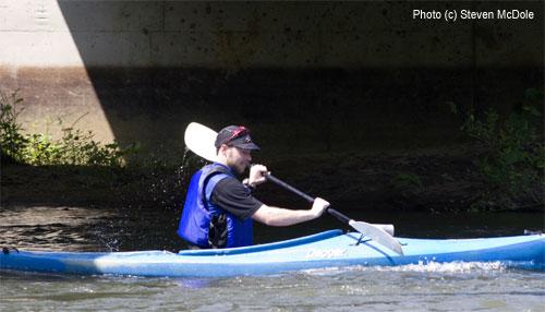 levi kayaking cville tri 2008