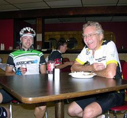 post race breakfast