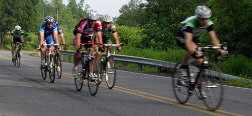 tour de susquehanna 2008 lead pack