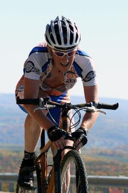 mountain bike aero position