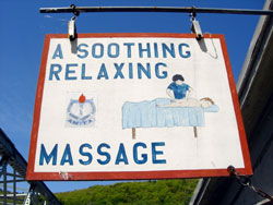 soothing massage