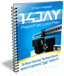 14 day rapid fat loss ebook cover