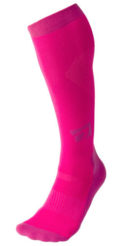 acel compression sock pink