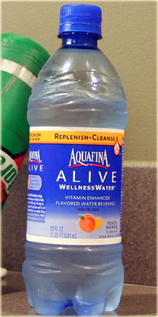 aquafina alive bottle
