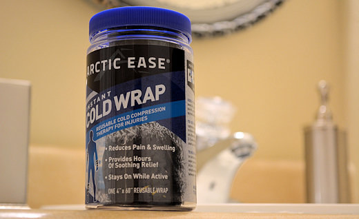 arctic ease instant cold wrap